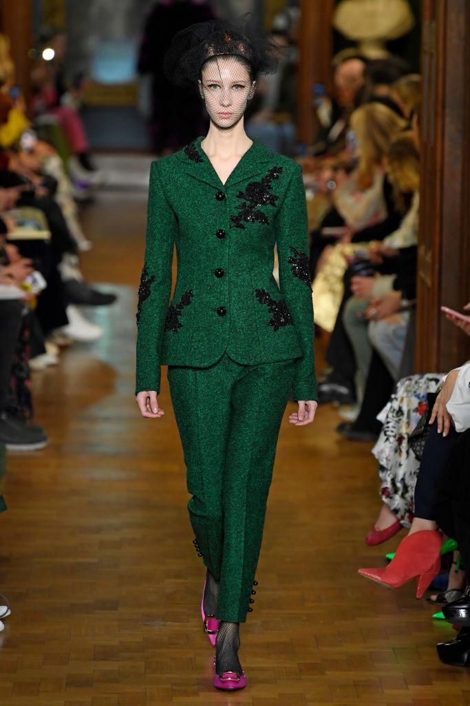 Erdem, London Fashion Week, fall '19.