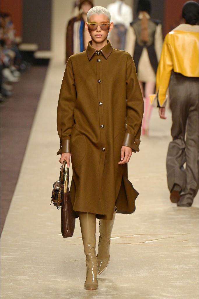 fendi, fall 2019, runway, milan fashion week, karl lagerfeld