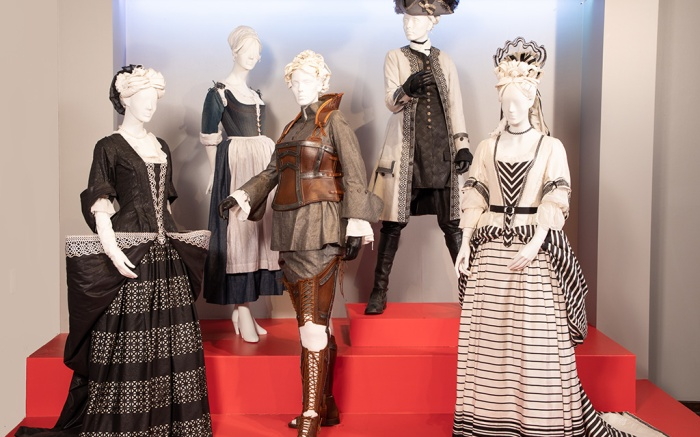 """""""The Favourite"""" costumes by Sandy Powell, 2019 Academy Award nominee for Costume Design."""