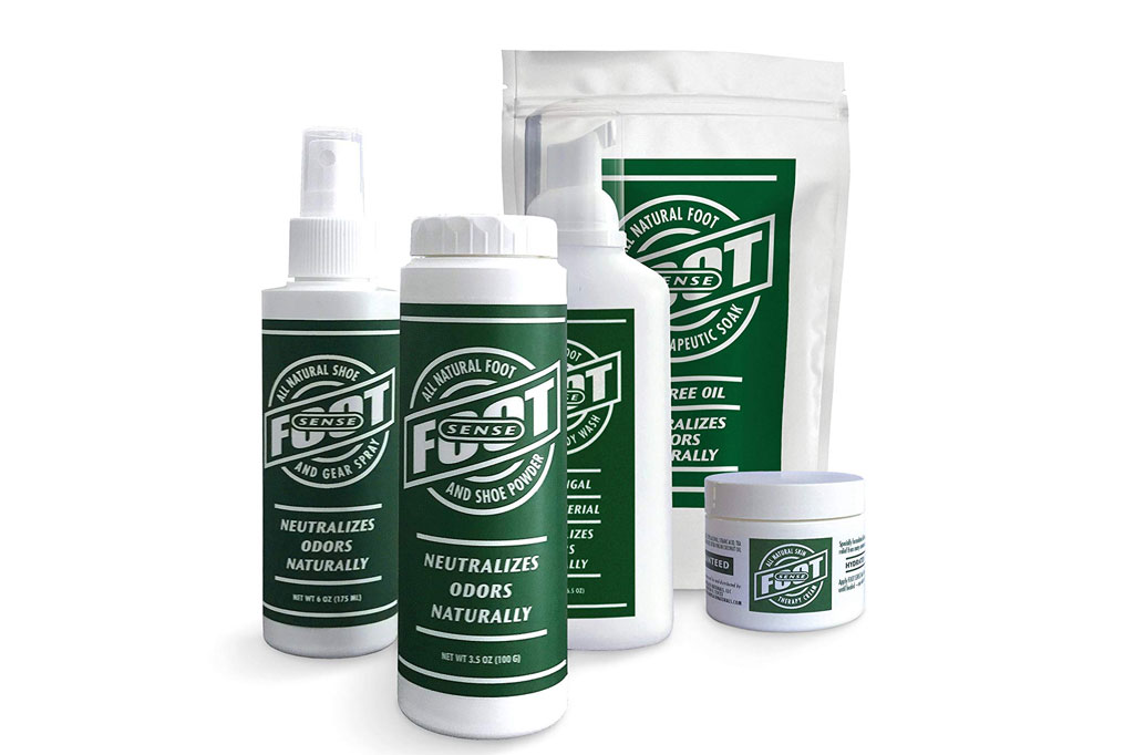 Foot Sense all Natural Smelly Foot and Shoe Powder
