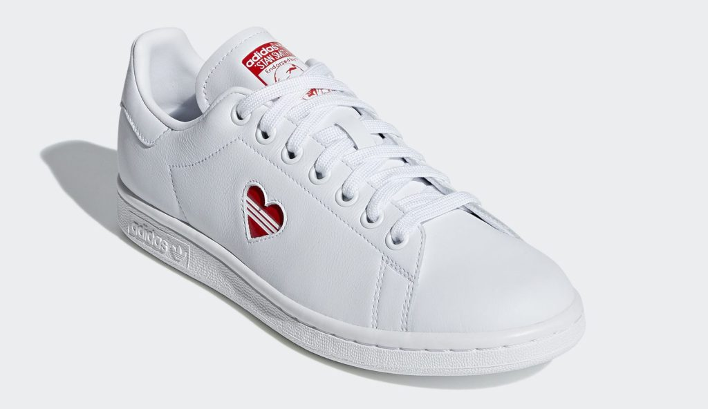Adidas Stan Smith Valentine's Day White