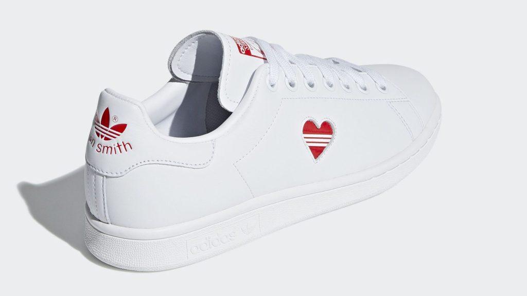 Adidas Stan Smith Valentine's Day White