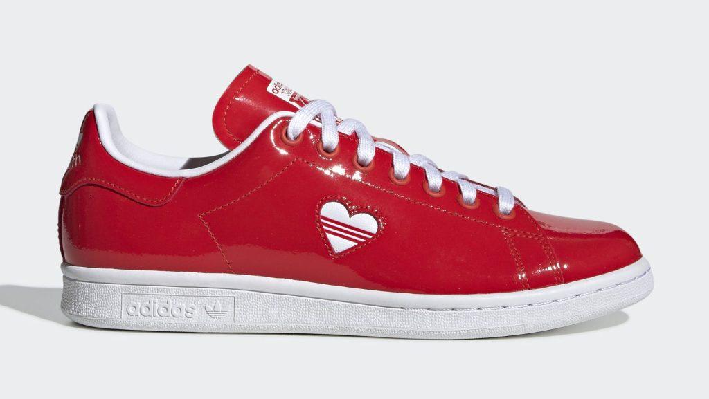 Adidas Stan Smith Valentine's Day Red