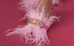 GCDS fall 2019, pink heels