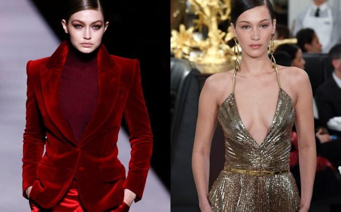 gigi hadid, bella hadid, new york fashion week