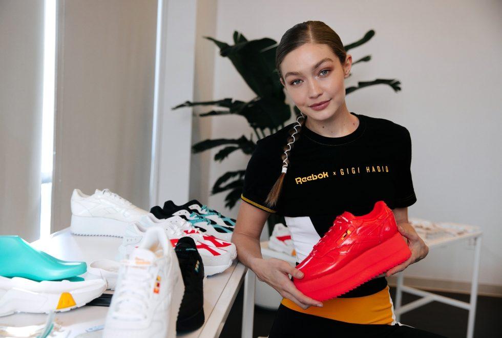 Reebok x Gigi Hadid's Shoe Collection