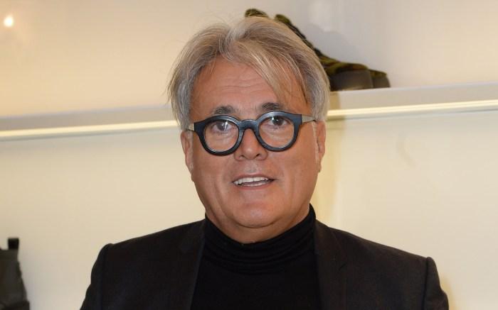 Giuseppe ZanottiGiuseppe Zanotti presentation, Fall Winter 2018, Milan Fashion Week Men's, Italy - 13 Jan 2018