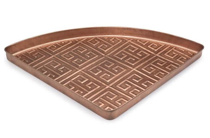 Good Directions Athens Multi-Purpose Shoe Tray for Boots in Copper (31