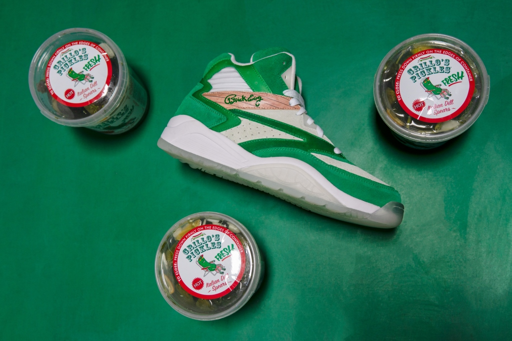 Ewing Athletics 'The Pickle' sneaker, grillo's pickles
