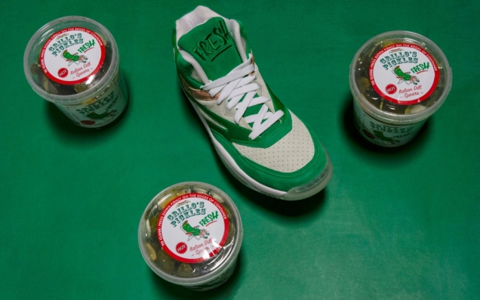 grillo's pickles x ewing athletics ewing sport lite