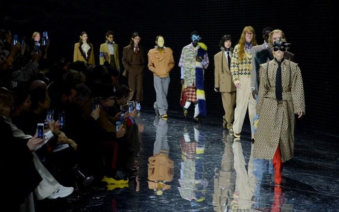 gucci, milan fashion week, fall 2019
