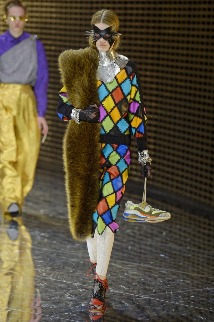 gucci fall 2019, milan fashion week
