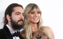 Tom Kaulitz and Heidi KlumElton John