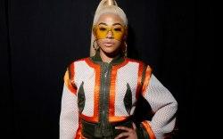 Hennessey, runway, jeremy scott, celebrity style,