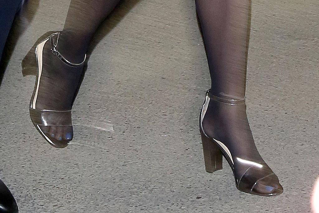 ivanka trump, sandals, block heel, celebrity style