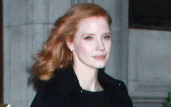 Jessica Chastain, street style, givenchy lbd,