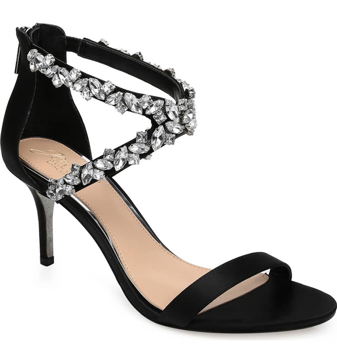 Jewel Badgley Mischka Jaylee Sandal