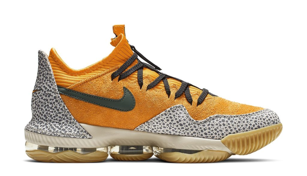 Atmos x Nike LeBron 16 Low 'Safari'
