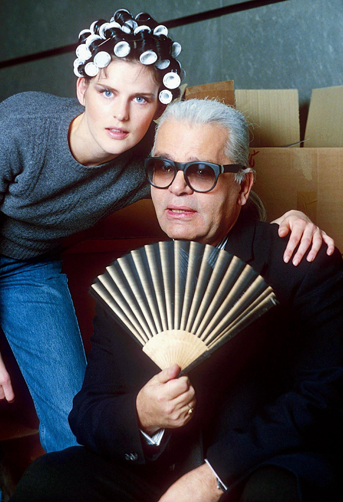 KARL LAGERFELD AND STELLA TENNANTAutumn Winter Fashion Shows, Paris, France - 1995
