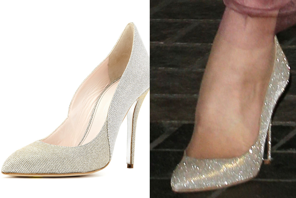 Kate Middleton, Oscar de la Renta Cabrina pumps