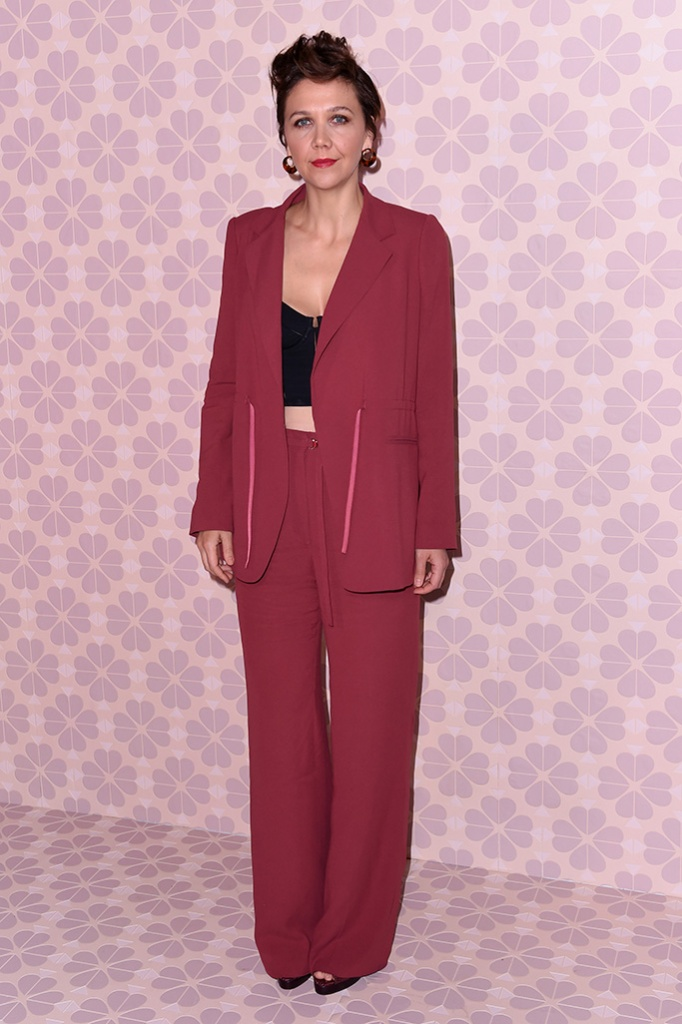 Maggie GyllenhaalKate Spade show, Arrivals, Fall Winter 2019, New York Fashion Week, USA - 08 Feb 2019