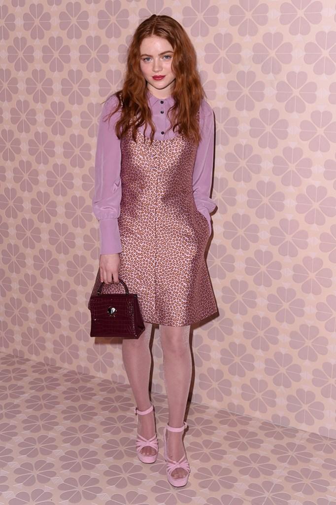 Sadie SinkKate Spade show, Arrivals, Fall Winter 2019, New York Fashion Week, USA - 08 Feb 2019