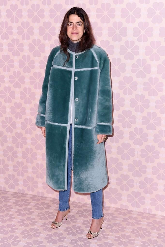 Leandra MedineKate Spade show, Arrivals, Fall Winter 2019, New York Fashion Week, USA - 08 Feb 2019