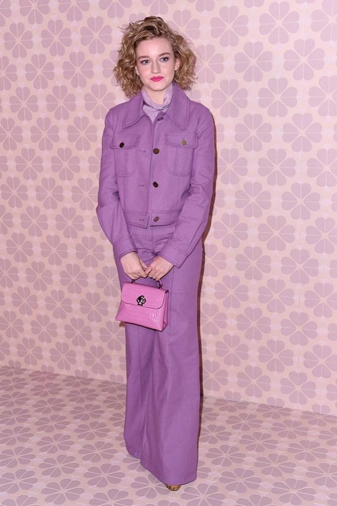 Julia GarnerKate Spade show, Arrivals, Fall Winter 2019, New York Fashion Week, USA - 08 Feb 2019