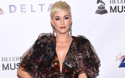 Katy Perry's Over-the-Knee Boots Camouflaged Into