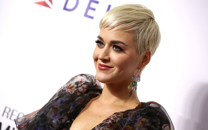 Katy PerryMusiCares Person of the Year Gala, Arrivals, Convention Center, Los Angeles, USA - 08 Feb 2019