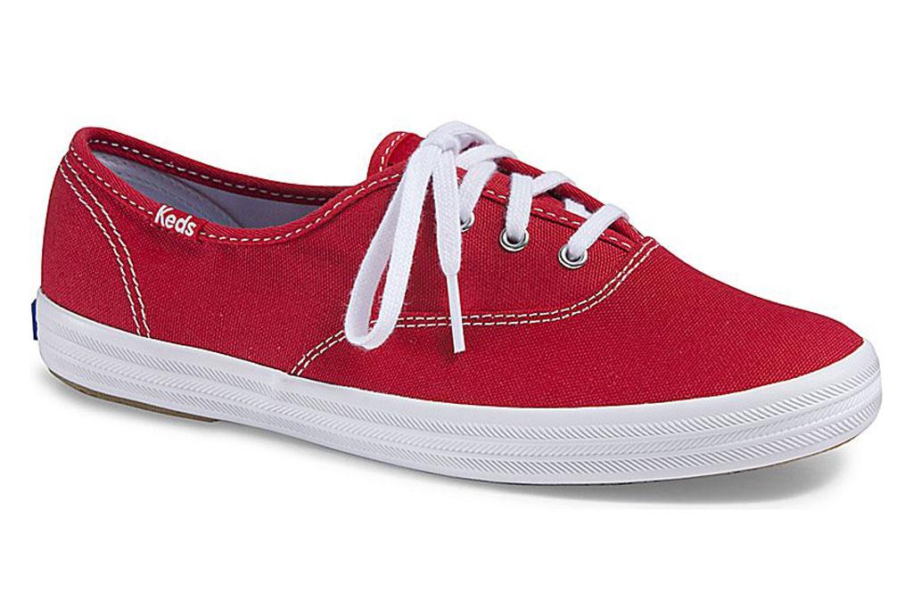 Keds Champion Original sneaker, Red Sneakers for Women
