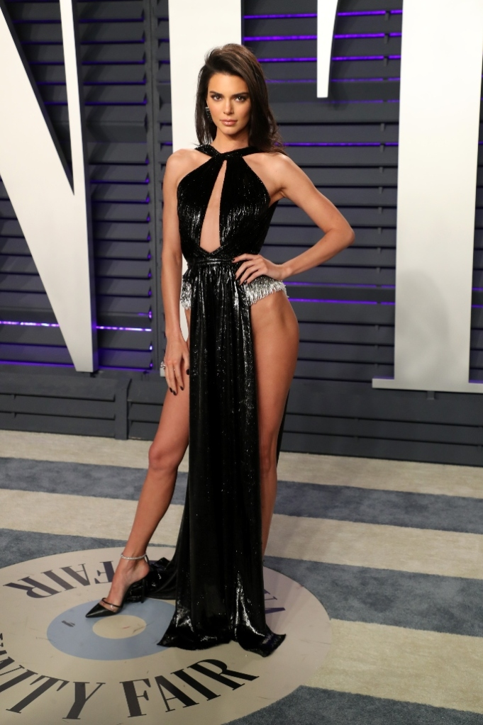 kendall jenner, Vanity Fair Oscars After Party,