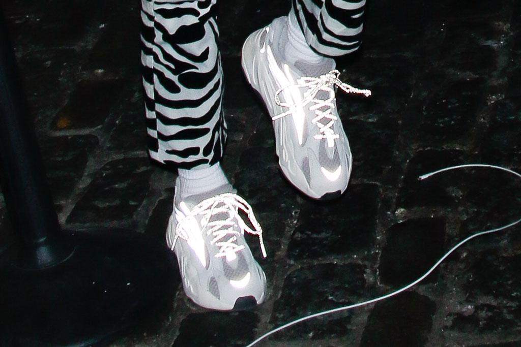 kendall jenner, yeezy, sneakers, nyfw, celebrity style, street style