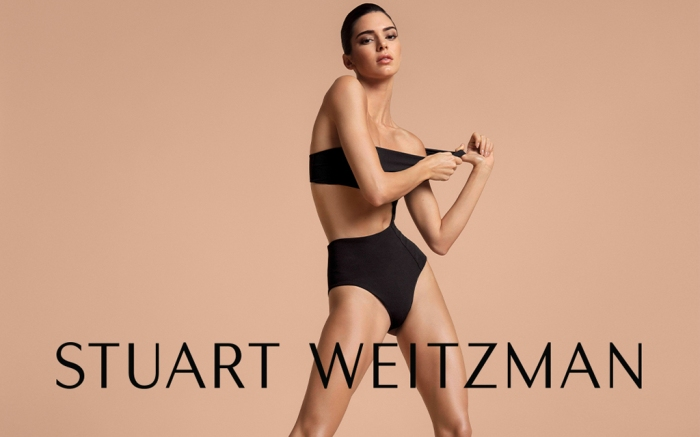 Stuart Weitzman Kendall Jenner Spring 2019 Campaign