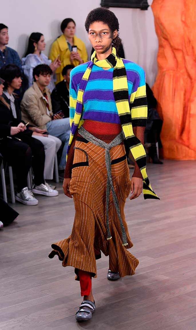 Kiko Kostadinov x Asics, London Fashion Week, fall '19.