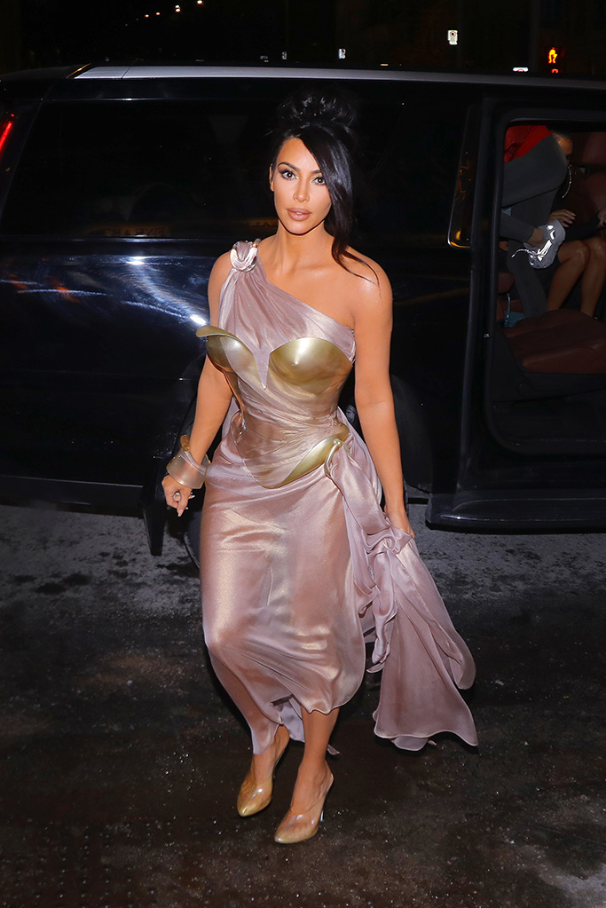 Kim Kardashian, mugler, montreal, vintage dress, see-through dress, arrives for the Thierry Mugler exhibition opening at the Montreal Museum of Fine Arts in Montreal,Pictured: Kim KardashianRef: SPL5067724 260219 NON-EXCLUSIVEPicture by: SplashNews.comSplash News and PicturesLos Angeles: 310-821-2666New York: 212-619-2666London: 0207 644 7656Milan: 02 4399 8577photodesk@splashnews.comWorld Rights