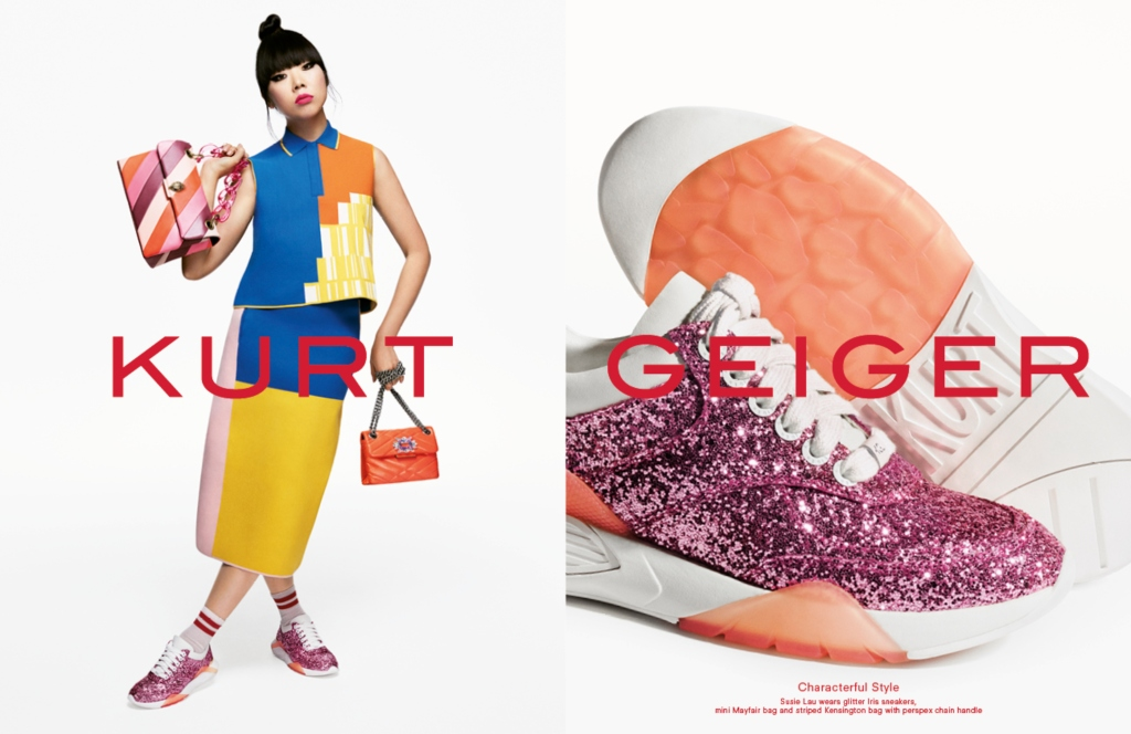 London Fashion Week: Kurt Geiger Kicks