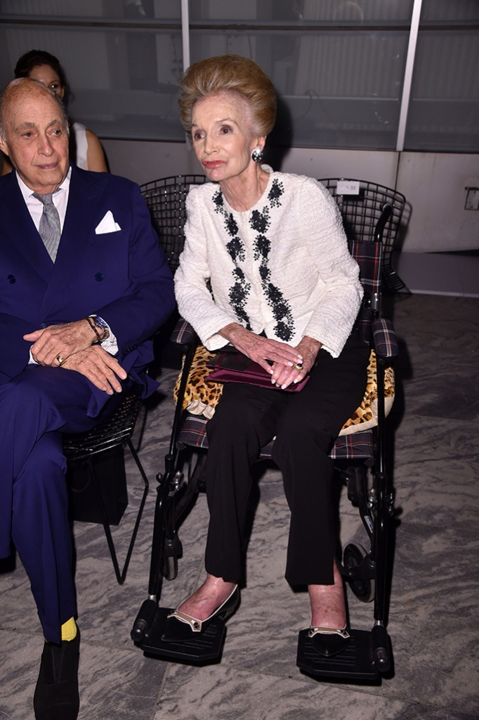 Lee Radziwill in the front rowCarolina Herrera show, Front Row, Spring Summer 2018, New York Fashion Week, USA - 11 Sep 2017