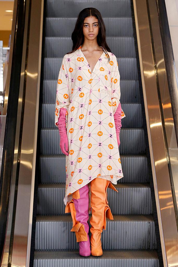 Natasha Zinko show, Runway, Fall Winter 2019, London Fashion Week, UK - 17 Feb 2019