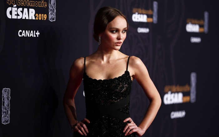 Lily-Rose Depp arrives for the 44th annual Cesar awards ceremony held at the Salle Pleyel concert hall in Paris, France, 22 February 2019.Arrivals - Cesars 2019, Paris, France - 22 Feb 2019