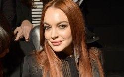 Lindsay Lohan, saint laurent, front row,