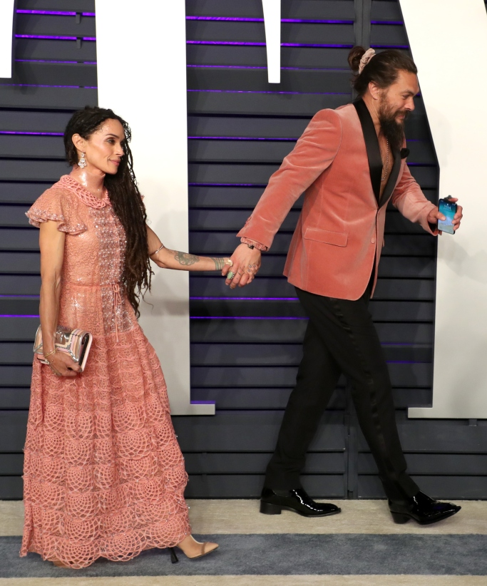 2019 Vanity Fair Oscar party, lisa bonet and jason momoa