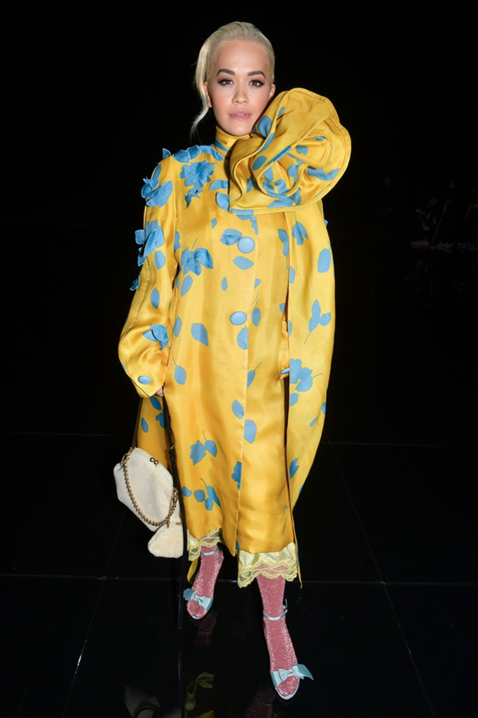 Rita Ora in the front rowMarc Jacobs show, Front Row, Fall Winter 2019, New York Fashion Week, USA - 13 Feb 2019