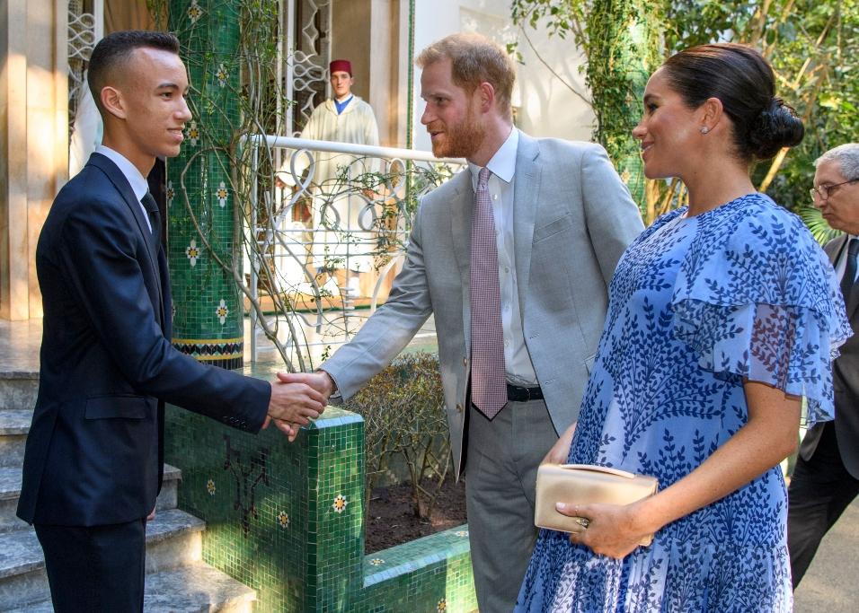 meghan markle, prince harry, morocco