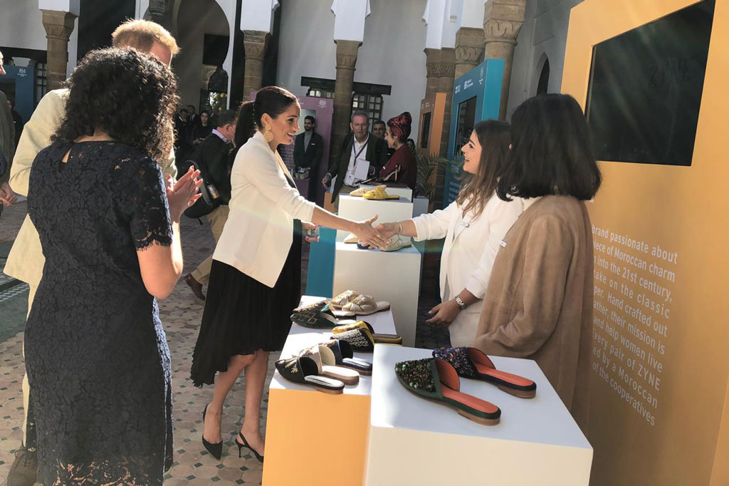 Meghan Markle, Zyne Shoes, rabat, morocco