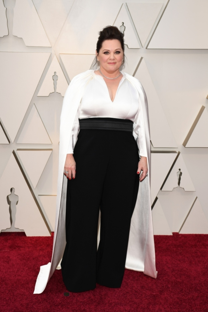 Melissa McCarthy, 2019 academy awards, red carpet, jumpsuit, oscar nominee