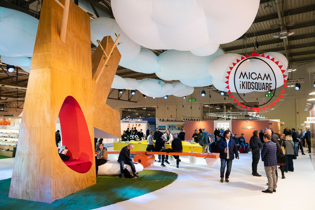 Micam, kids space, milan
