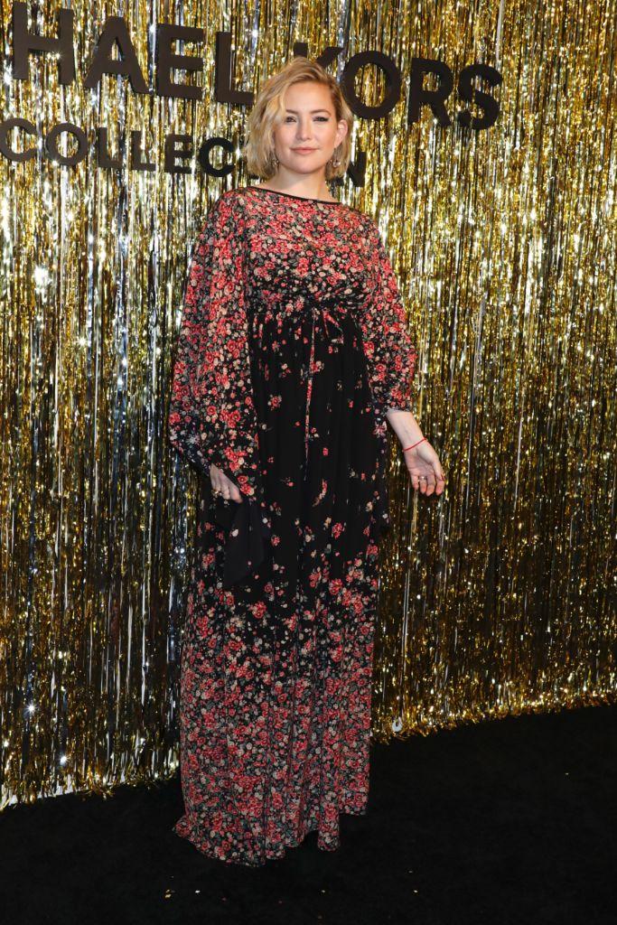 kate hudson, michael kors fall 2019 show, new york fashion week