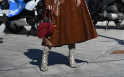 Snakeskin Boots Are Taking Over Milan