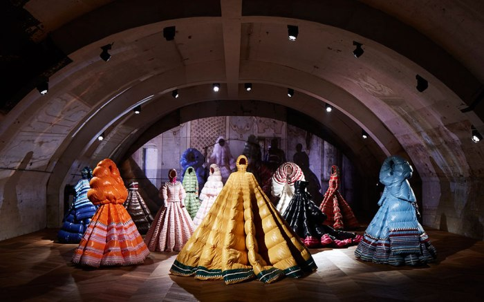 Pierpaolo Piccioli for Moncler, Milan Fashion Week, fall '19.